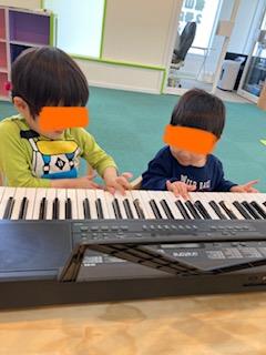 ピアノを弾いたよ🎵